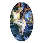 Queen of the Gnomes Sticker (Oval 10 pk)