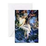 Queen of the Gnomes Greeting Cards (Pk of 10)