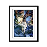 Queen of the Gnomes Framed Panel Print