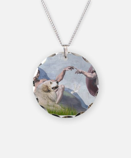 Funny Pyrenees Necklace