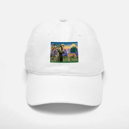 St Francis / Greyhound (f) Baseball Baseball Cap