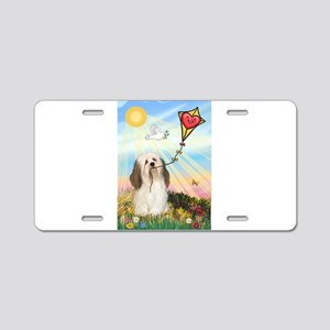 The Kite / Havanese (#1) Aluminum License Plate
