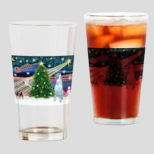 Xmas Magic & Irish WH Drinking Glass