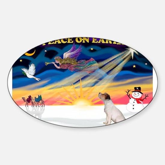 XmasSunrise/JRT #5 Sticker (Oval)