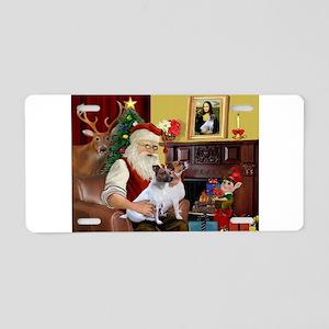Santa's JRT Aluminum License Plate