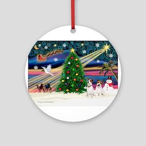 Xmas Magic & JRT pair Ornament (Round)