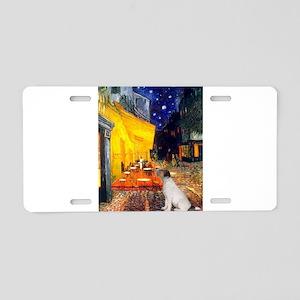 Cafe / JRT Aluminum License Plate