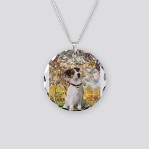 Spring / JRT Necklace Circle Charm