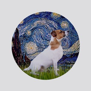 "Starry Night / JRT 3.5"" Button"