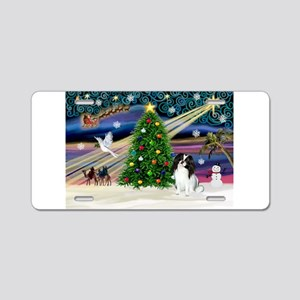 Xmas Magic & J Chin Aluminum License Plate