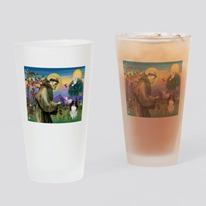 St Francis' Japanese Chin Drinking Glass