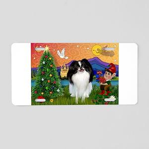 Christmas Fantasy & Japanese Aluminum License Plat