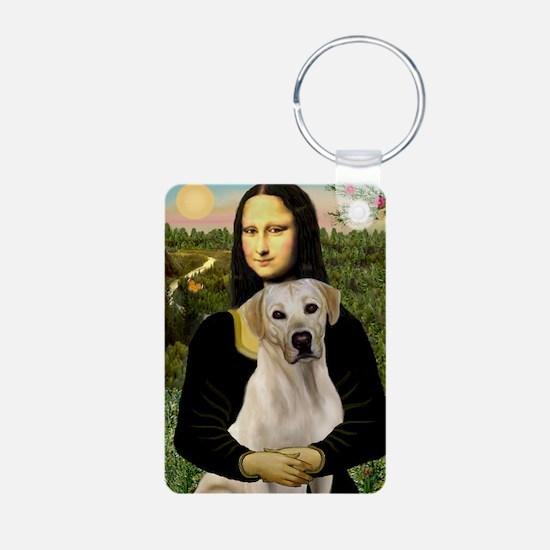 Mona & her Yellow Lab Keychains