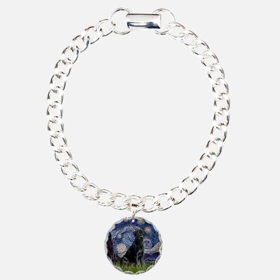 Starry Night Black Lab Bracelet