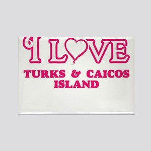 I love Turks & Caicos Island Magnets