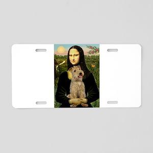 Mona & her Lakeland Aluminum License Plate