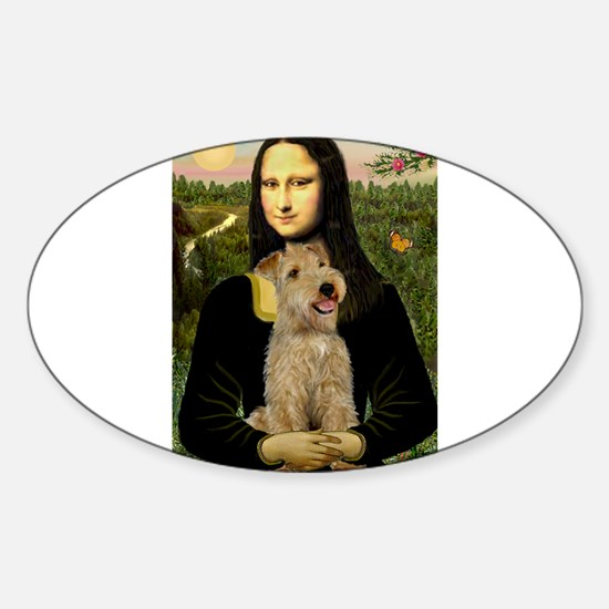 Mona & her Lakeland Sticker (Oval)