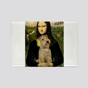 Mona & her Lakeland Rectangle Magnet