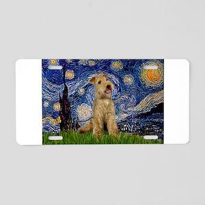 Starry Night Lakeland T. Aluminum License Plate