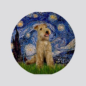 "Starry Night Lakeland T. 3.5"" Button"