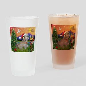 Xmas Fantasy/Lhasa (#7) Drinking Glass