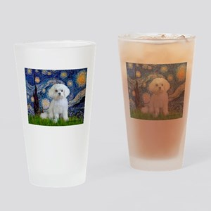 Starry / Maltese Drinking Glass