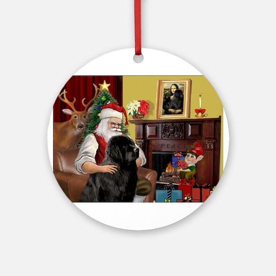 Newfound Christmas Fantasy. Ornament (Round)