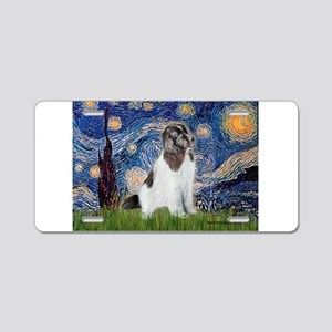Starry Night / Landseer Aluminum License Plate