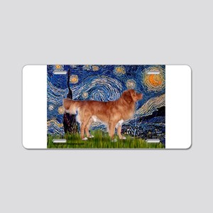 Starry Night Nova Scotia..... Aluminum License Pla