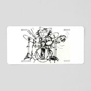WILDCAT DRUMMER™ Aluminum License Plate