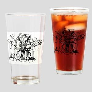 WILDCAT DRUMMER™ Drinking Glass