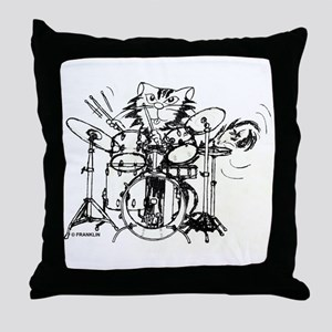 WILDCAT DRUMMER™ Throw Pillow