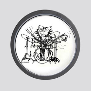 WILDCAT DRUMMER™ Wall Clock