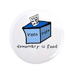 "Occupy Wall Street Democracy 3.5"" Button (100"