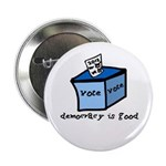 "Occupy Wall Street Democracy 2.25"" Button (10"