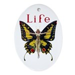 Queen of the Fairies Ornament (Oval)