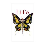Queen of the Fairies Sticker (Rectangle 50 pk)
