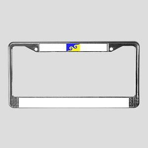 Karmapa's Dharma Flag License Plate Frame