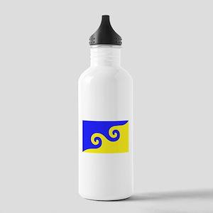 Karmapa's Dharma Flag Stainless Water Bottle 1.0L