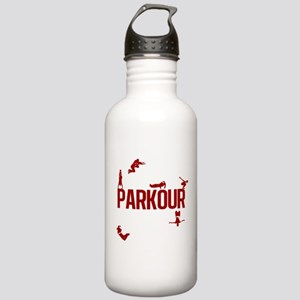 Parkour Crew (Red) Stainless Water Bottle 1.0L