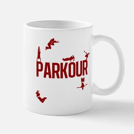 Parkour Crew (Red) Mug