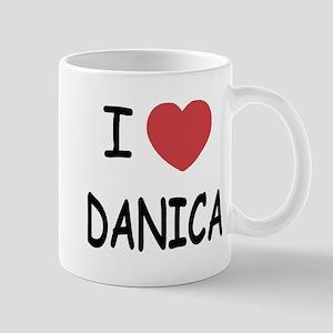 I heart Danica Mug