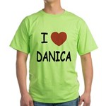 I heart Danica Green T-Shirt