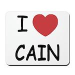 I heart Cain Mousepad