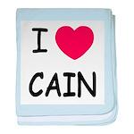 I heart Cain baby blanket