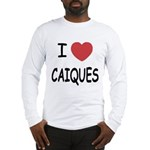 I heart caiques Long Sleeve T-Shirt