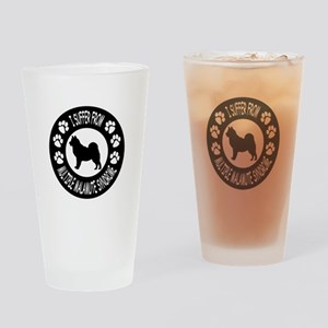 Alaskan Malamute Drinking Glass
