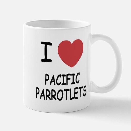 I heart pacific parrotlets Mug