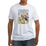 Chasing Fairies Fitted T-Shirt