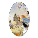 Chasing Fairies Sticker (Oval 50 pk)